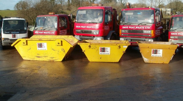 Dave Peat Waste Fleet with Skips